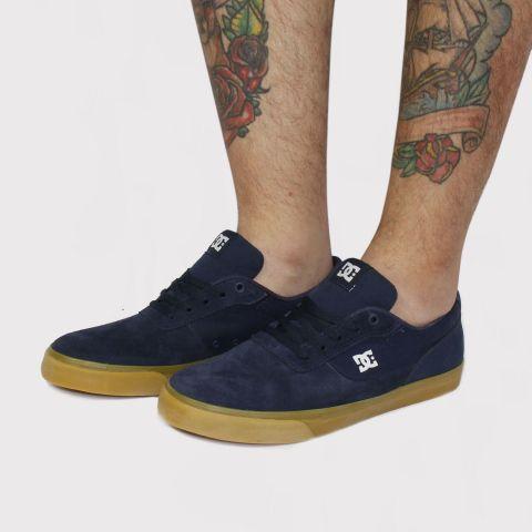 Tênis DC Shoes Switch - Azul Marinho/Caramelo