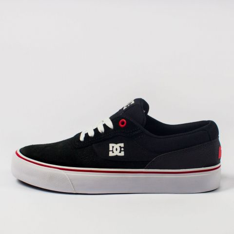 Tênis DC Shoes Switch - Preto/Branco/Vermelho