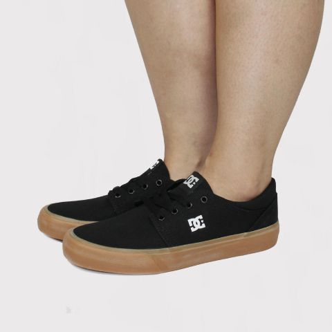 Tênis DC Shoes Trase Tx Black/Gum