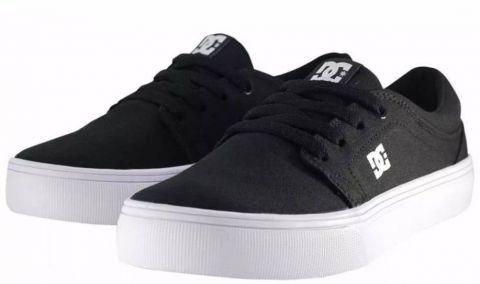 Tênis DC Shoes Trase Tx - Black/White