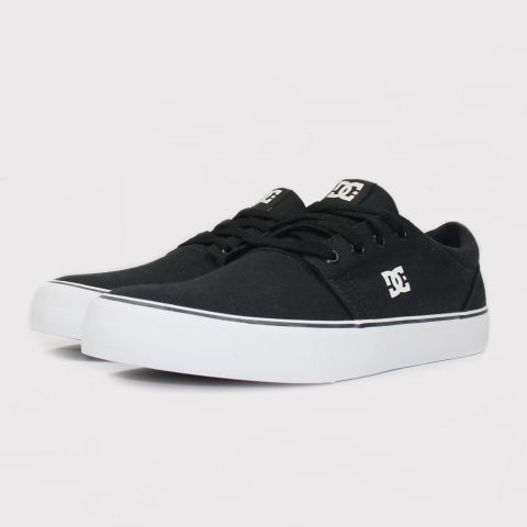 Tênis DC Shoes Trase TX - Black/White