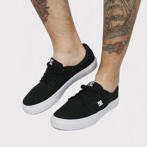 Tênis DC Shoes Trase Tx - Preto/Branco