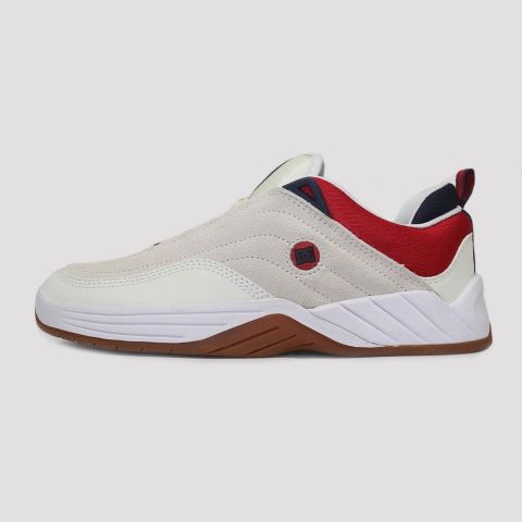 Tênis DC Shoes Williams Slim S - White/Navy/Red