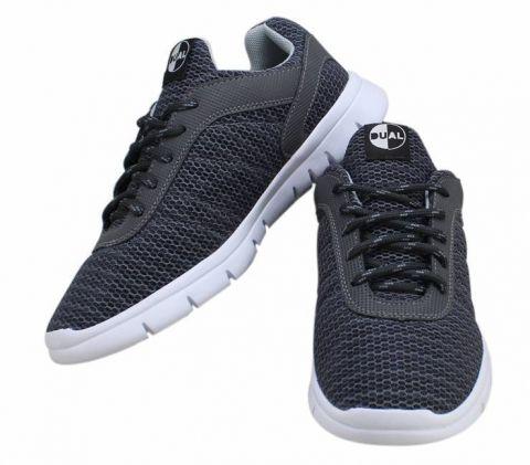 Tênis Dual Footwear Livre - Cinza