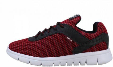 Tênis Dual Footwear Livre - Vermelho/Preto