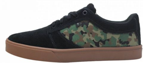 Tênis Faith Co. Son LT - Preto/Camuflado