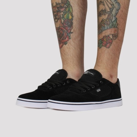 Tênis Hocks Flat Lite - Black White