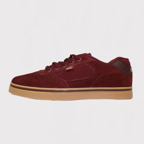 Tênis Hocks Flat Lite - Burgundy