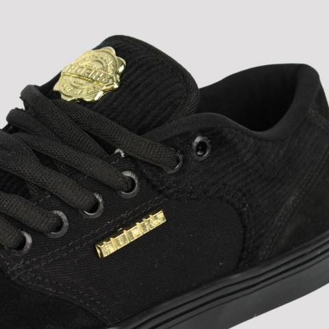 Tênis Hocks Montreal II - Black/ Gold