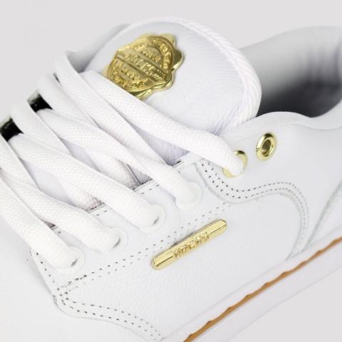 Tênis Hocks Montreal II - White/ Gold