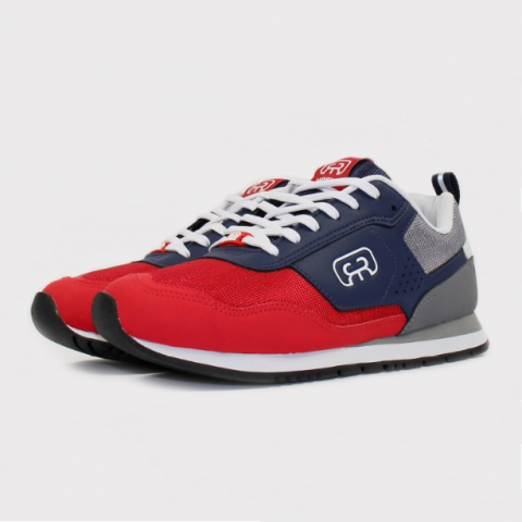 Tênis Hocks Nuv - Navy Greey Red