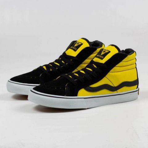 Tênis Mad Rats Hi Top - Preto/Amarelo
