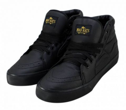 Tênis Mad Rats Hi Top PU - Black/Preto Total