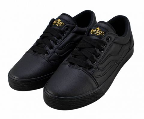 Tênis Mad Rats Old School PU - Black/Preto Total