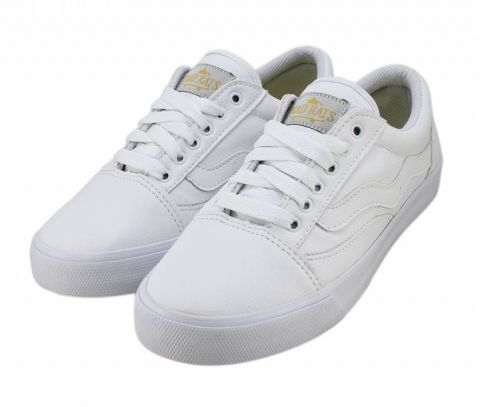 Tênis Mad Rats Old School PU - Branco Total
