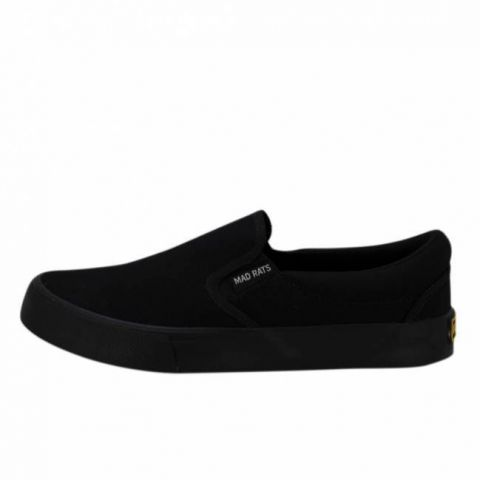 Tênis Mad Rats Slip On Preto Total