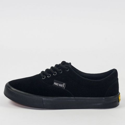Tênis Mad Rats Summer - Camurça Black/Preto Total