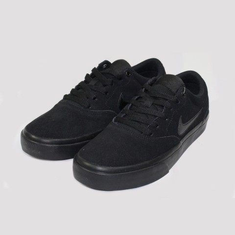 Tênis Nike SB Charge Suede - Preto Total