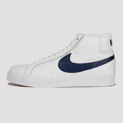 Tênis Nike SB Zoom Blazer Mid - Branco