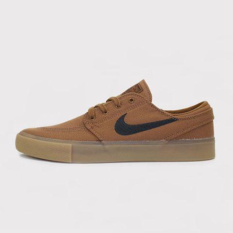 Tênis Nike SB Zoom Janoski Canvas - Marrom/Preto