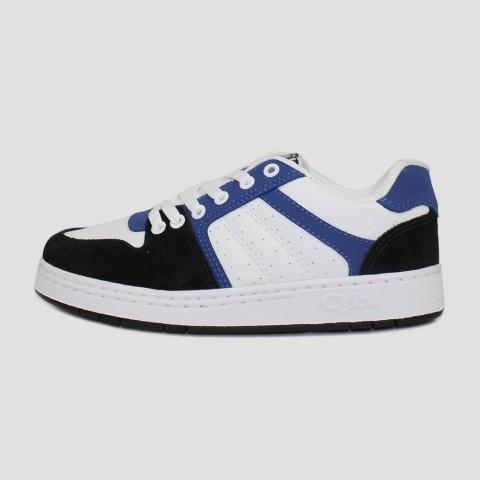 Tênis Qix 80s - Azul/Branco/Preta