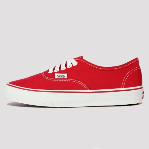 Tênis Vans Authentic - Red/White