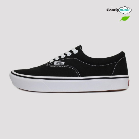 Tênis Vans Era Comfycush - Black/White