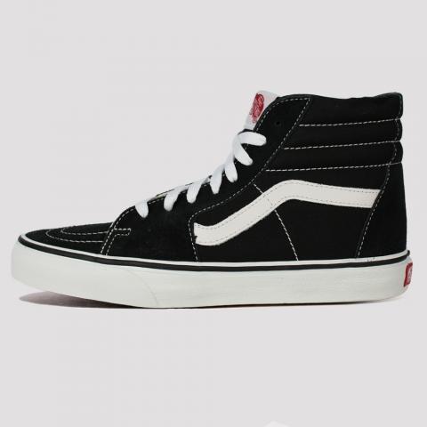 Tênis Vans SK8 Hi - Black/ White