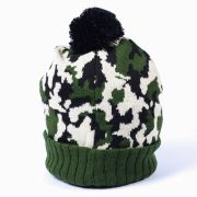Touca Gorro Chemical Camuflado Verde/Branco