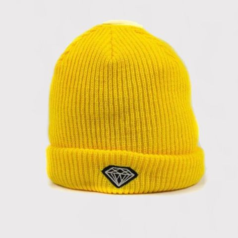 Touca Gorro Diamond Amarelo