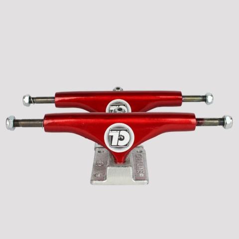 Truck City Line 139mm - Vermelho/Prata