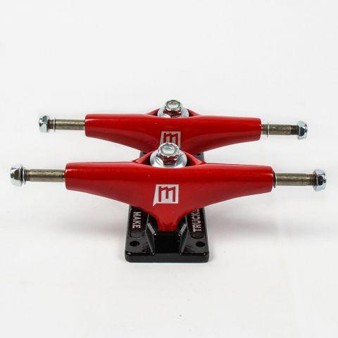 Truck Make Semi Color Vermelho 129mm