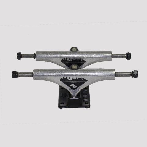 Truck Metallum Pro Model Tiago Garcia 139mm Preto/ Prata
