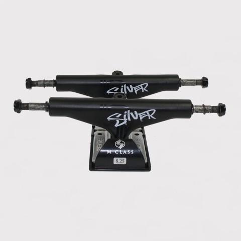 Truck Silver 143mm - Preto Fosco