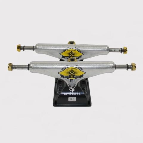 Truck Silver Kyle 136mm - Prata/Dourado