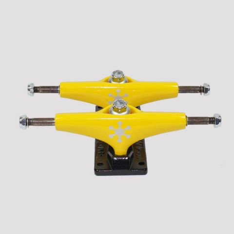Truck Snoway 127mm - Amarelo/Prata
