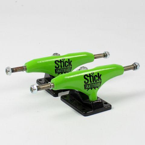 Truck Strick 129mm Preto/Verde Limão