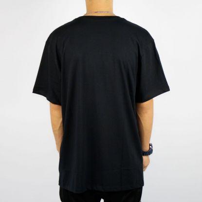 Camiseta Dc Shoes Pacting Basica - Preta/Azul/Roxa