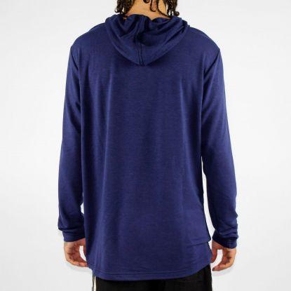Camiseta Hocks Manga Longa Lash Azul Marinho
