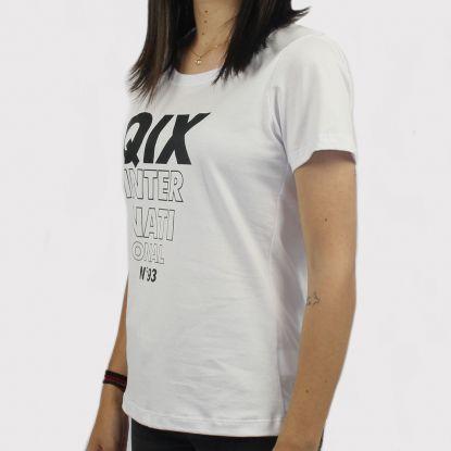 Camiseta Qix Missy - Branca