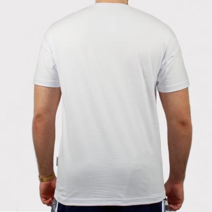 Camiseta Santa Cruz Classic Strip - Branco/Preto