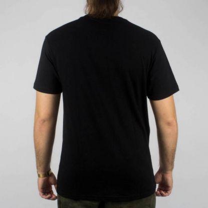 Camiseta Thrasher Mc Flame Bottom - Preta