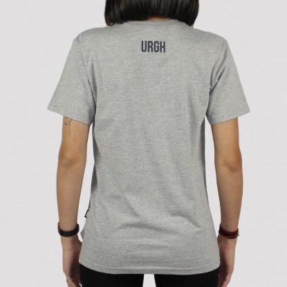 Camiseta Urgh Feminina Balão - Cinza