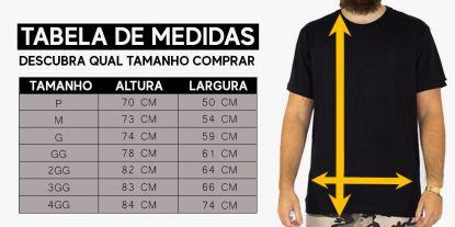 Camiseta XXL Logo (Tamanho Extra) - Preto