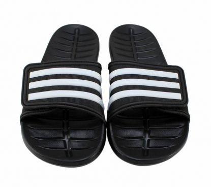 Chinelo Adidas Kyaso Adapt Preto/Branco