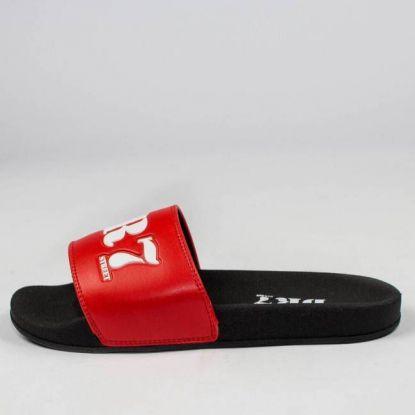 Chinelo DR7 Street Slide - Vermelho/Preto