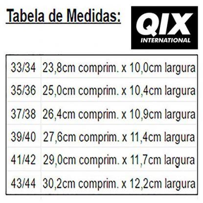 Chinelo Qix 93 Slide - Preto/Branco