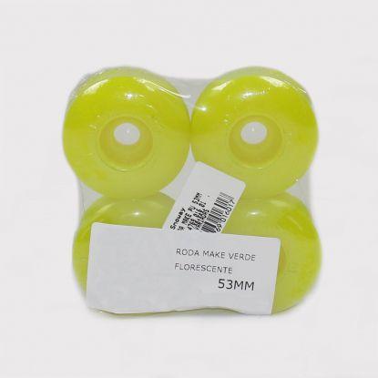Roda Make 53mm - Verde Florescente