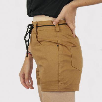 Shorts Riot Sarja - Caramelo