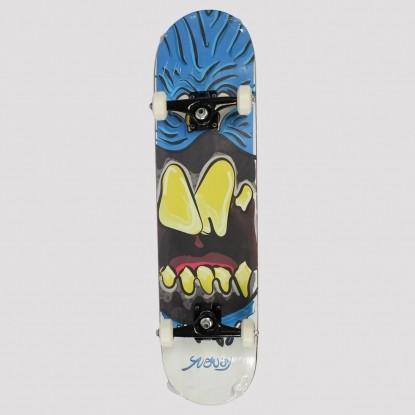 Skate Montado Snoway Blue Monster